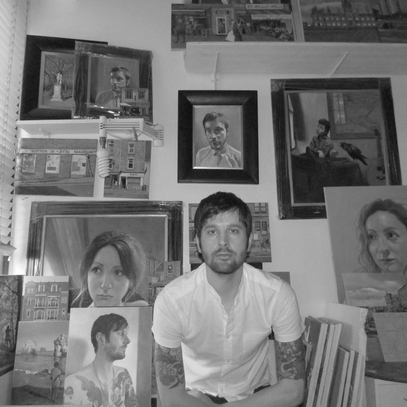 Steven Higginson Dundee Artist