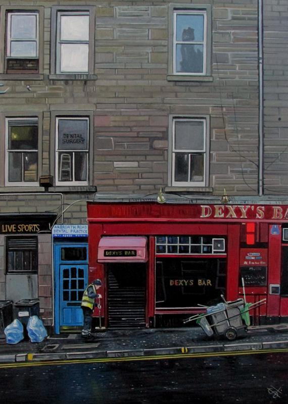 Steven Higginson - Dundee Road Sweeper