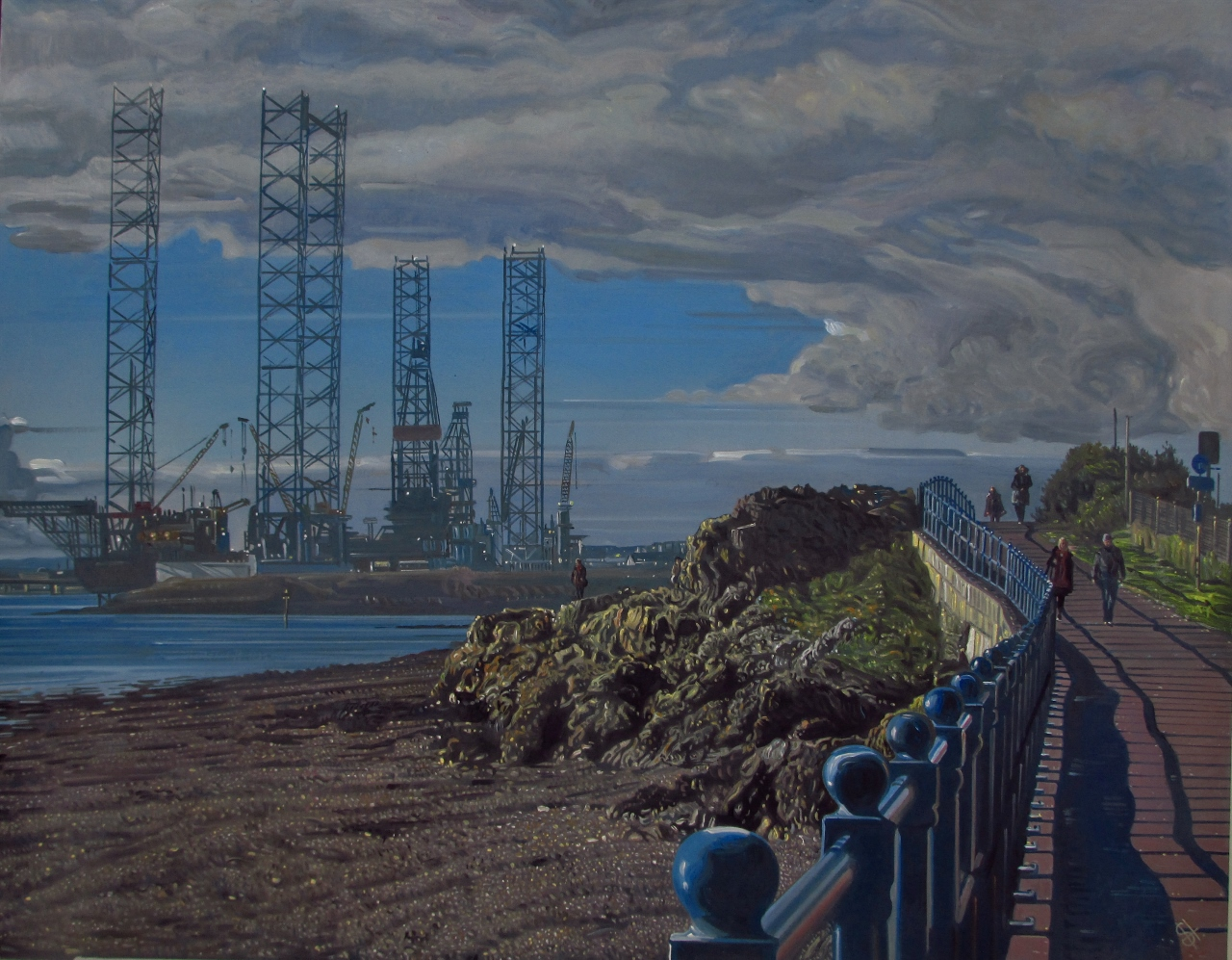 Dundee art Broughty Ferry
