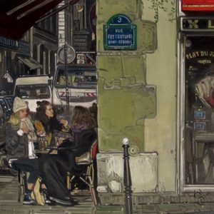 Paris painting art france