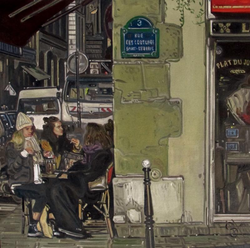 Paris painting art france
