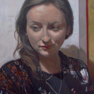 Female portrait paitings