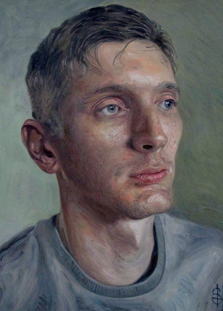 male portrait paintings
