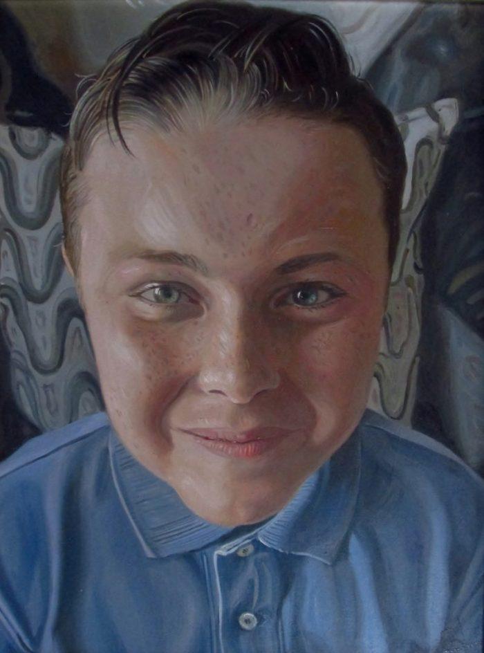 Children's portrait paintings UK
