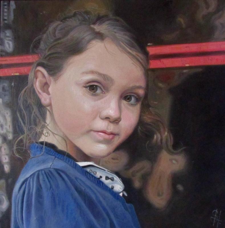Children's portrait paintings